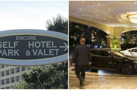 Wynn Resorts parking free Las Vegas