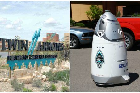 Arizona casino Twin Arrows robot