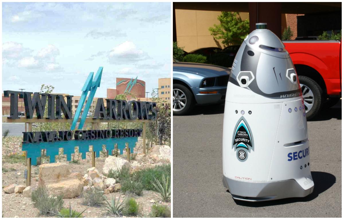 Arizona casino Twin Arrows robot