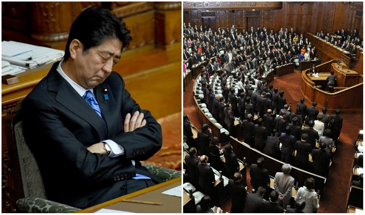 Japan casino bill IR Shinzo Abe