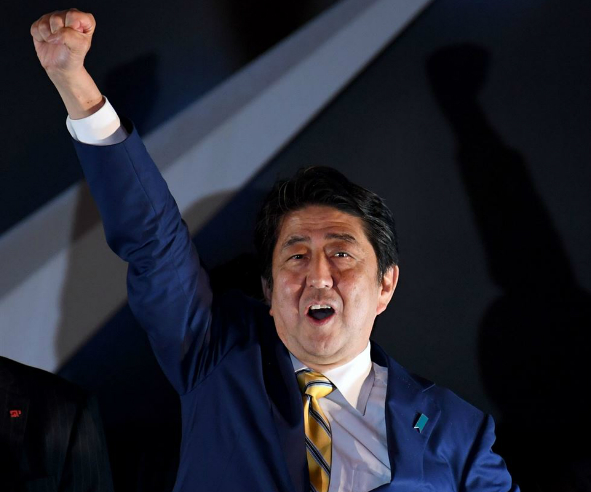 Japan IR casino bill Shinzo Abe
