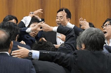 Japan casino bill protests