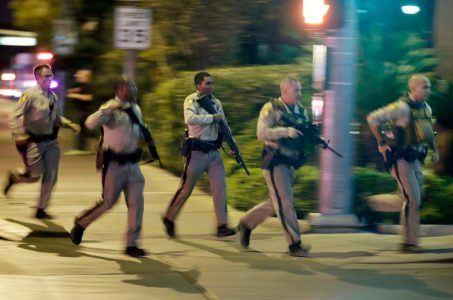 Las Vegas police shooting response
