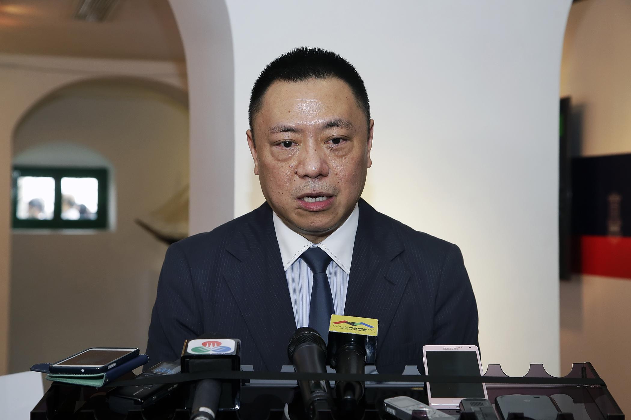 Macau casino license process