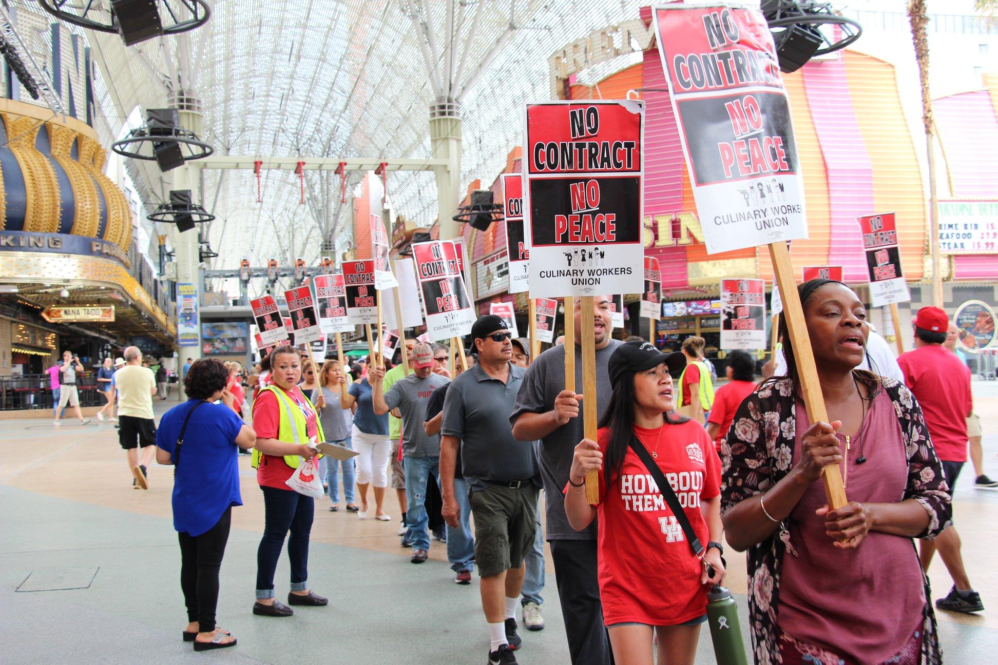 Culinary Union contracts Las Vegas casinos
