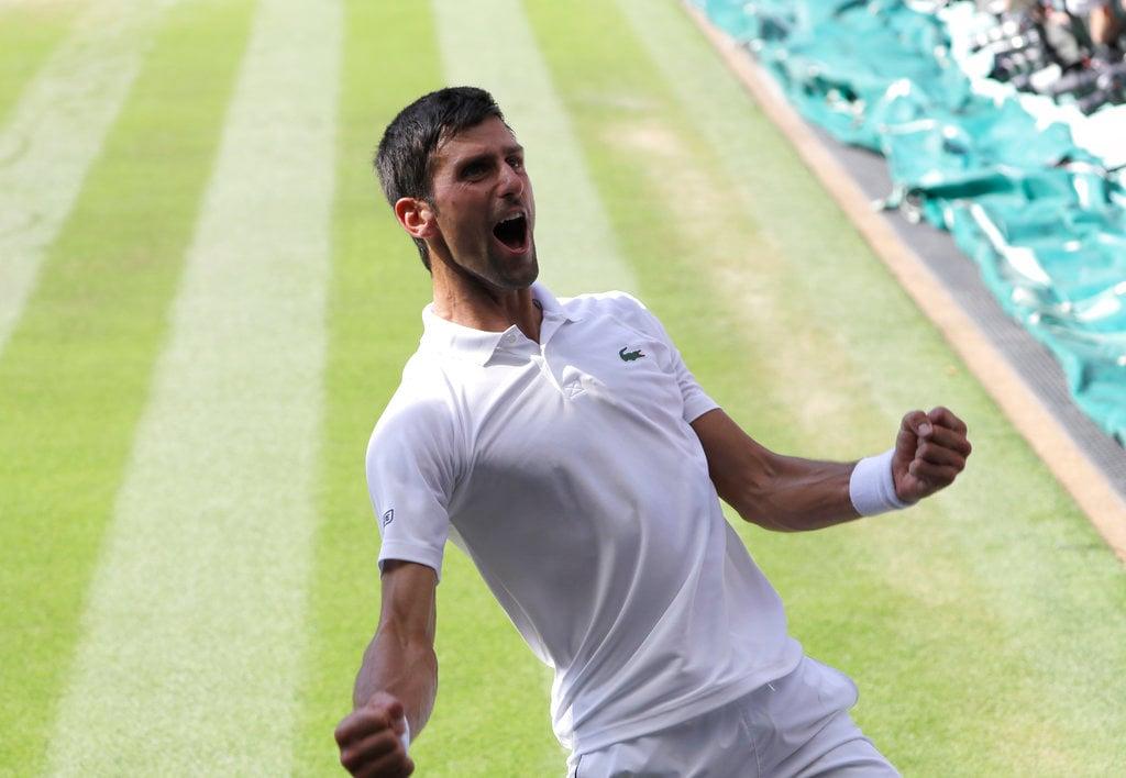 Novak Djokovic Wimbledon tennis odds