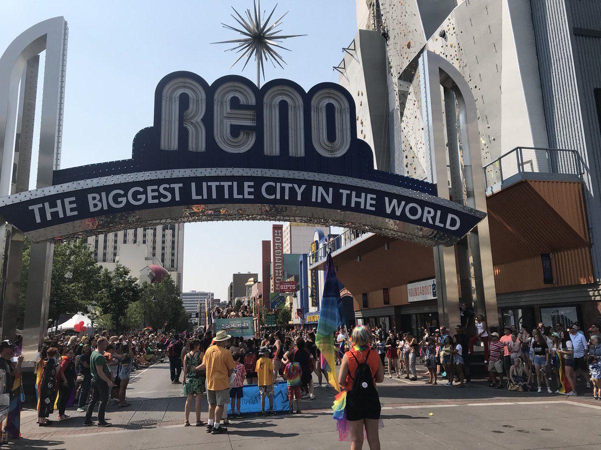Nevada casinos revenue Reno