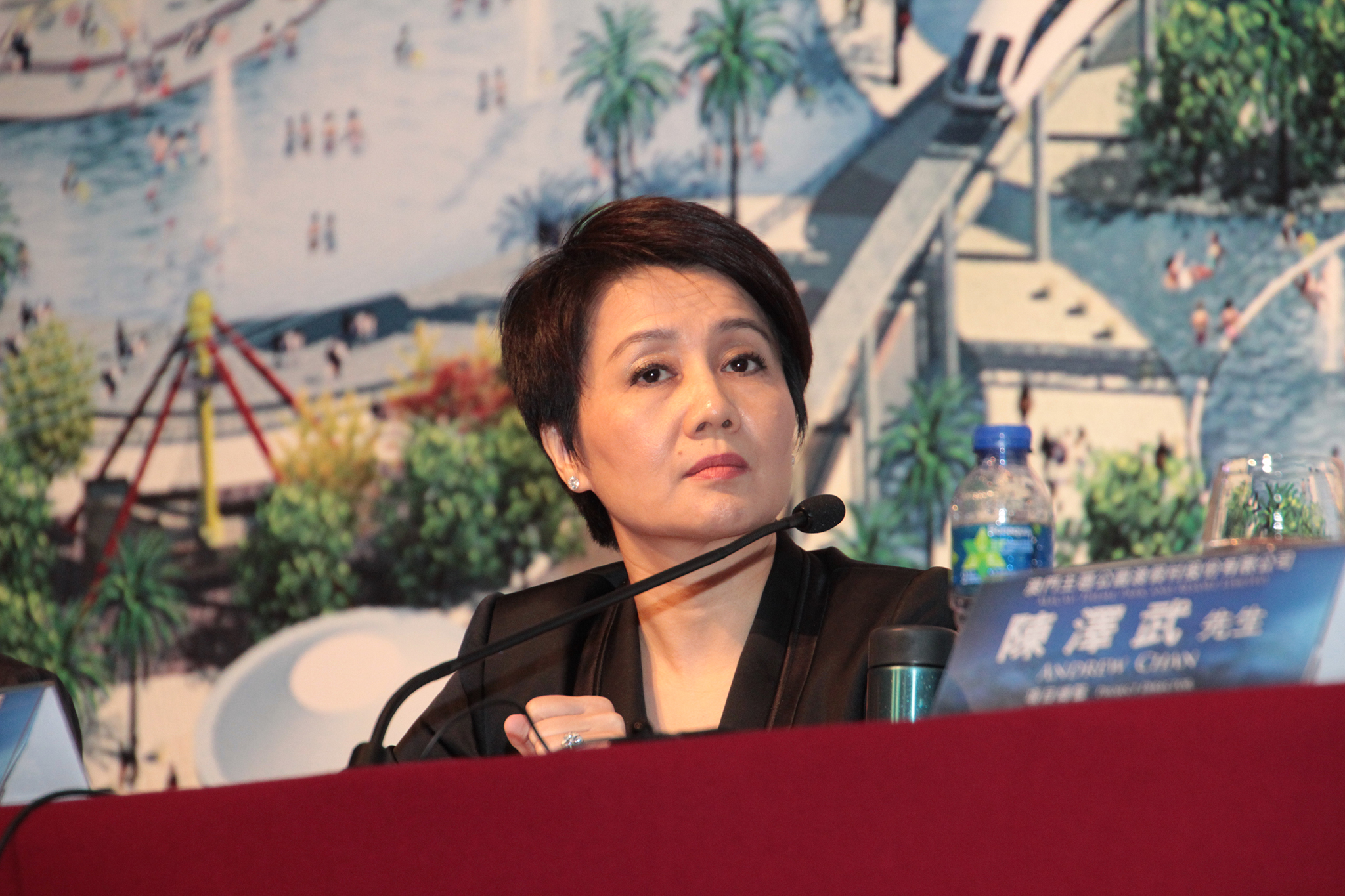 Macau royalty Angela Leong