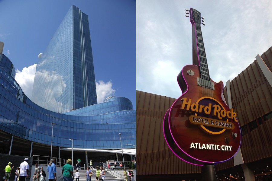 gaming revenue Atlantic City casinos