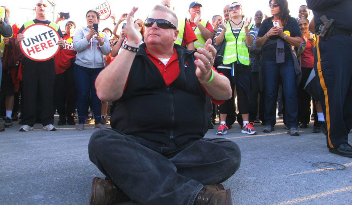 Atlantic City union strike Hard Rock