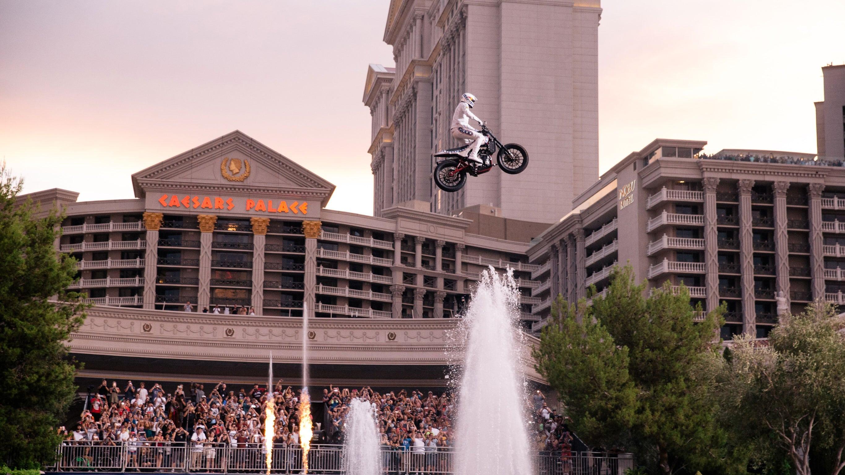Travis Pastrana Las Vegas jumps