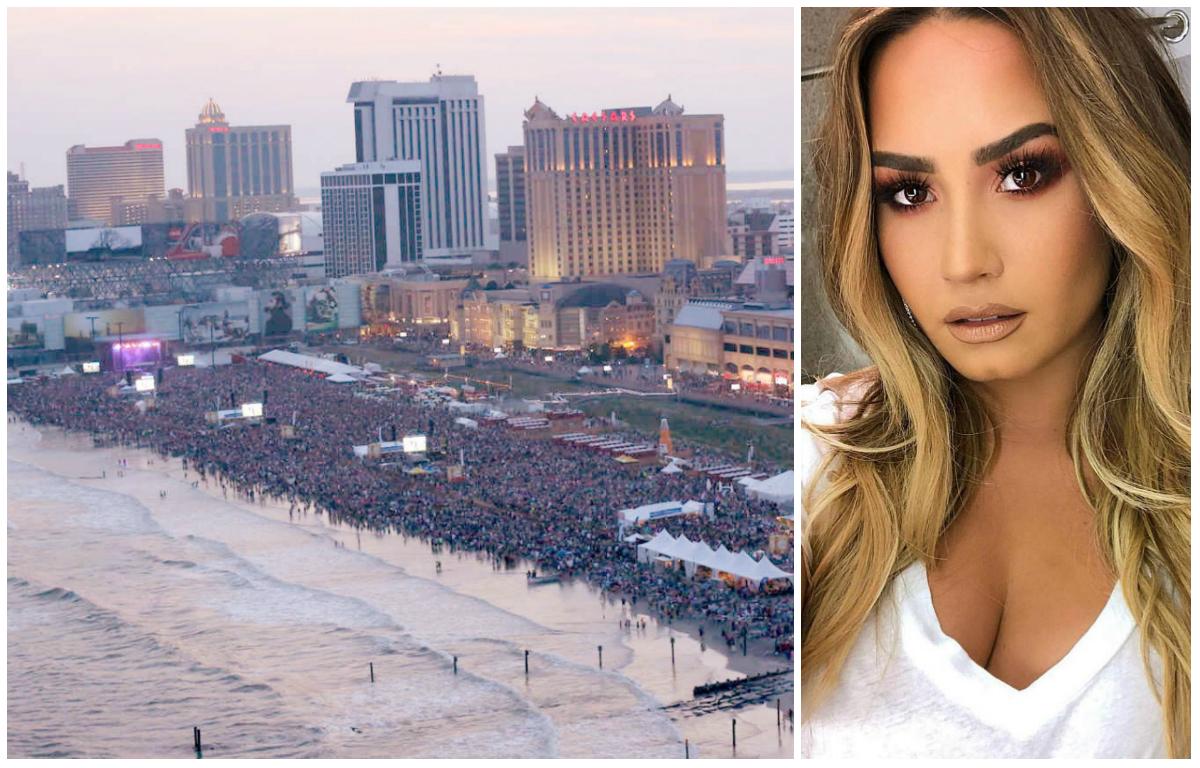 Demi Lovato Atlantic City concert