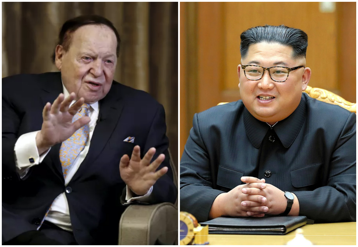 Las Vegas Sands North Korea Sheldon Adelson