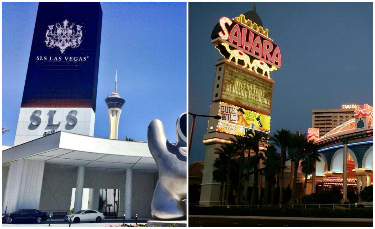 SLS Las Vegas renovation Sahara casino