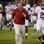 College Football Odds Predict Alabama Will Run The Table in Regular Season