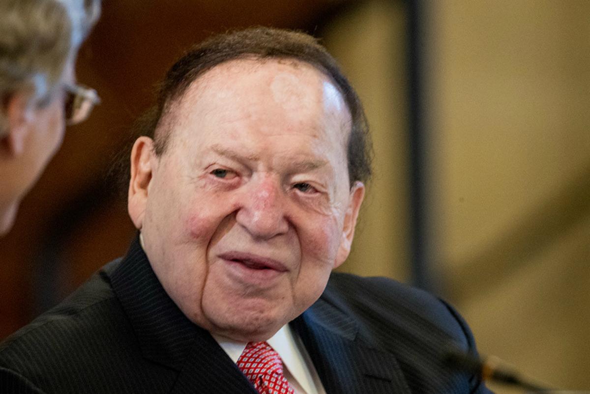Sheldon Adelson Japan casino