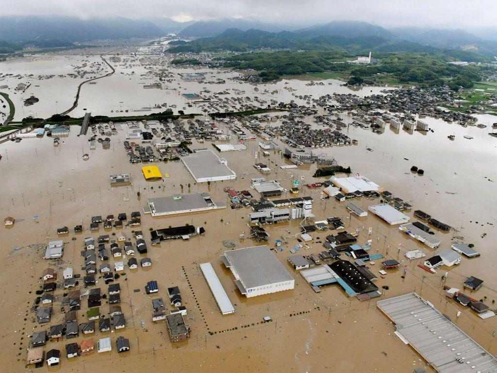 Japan flood disaster