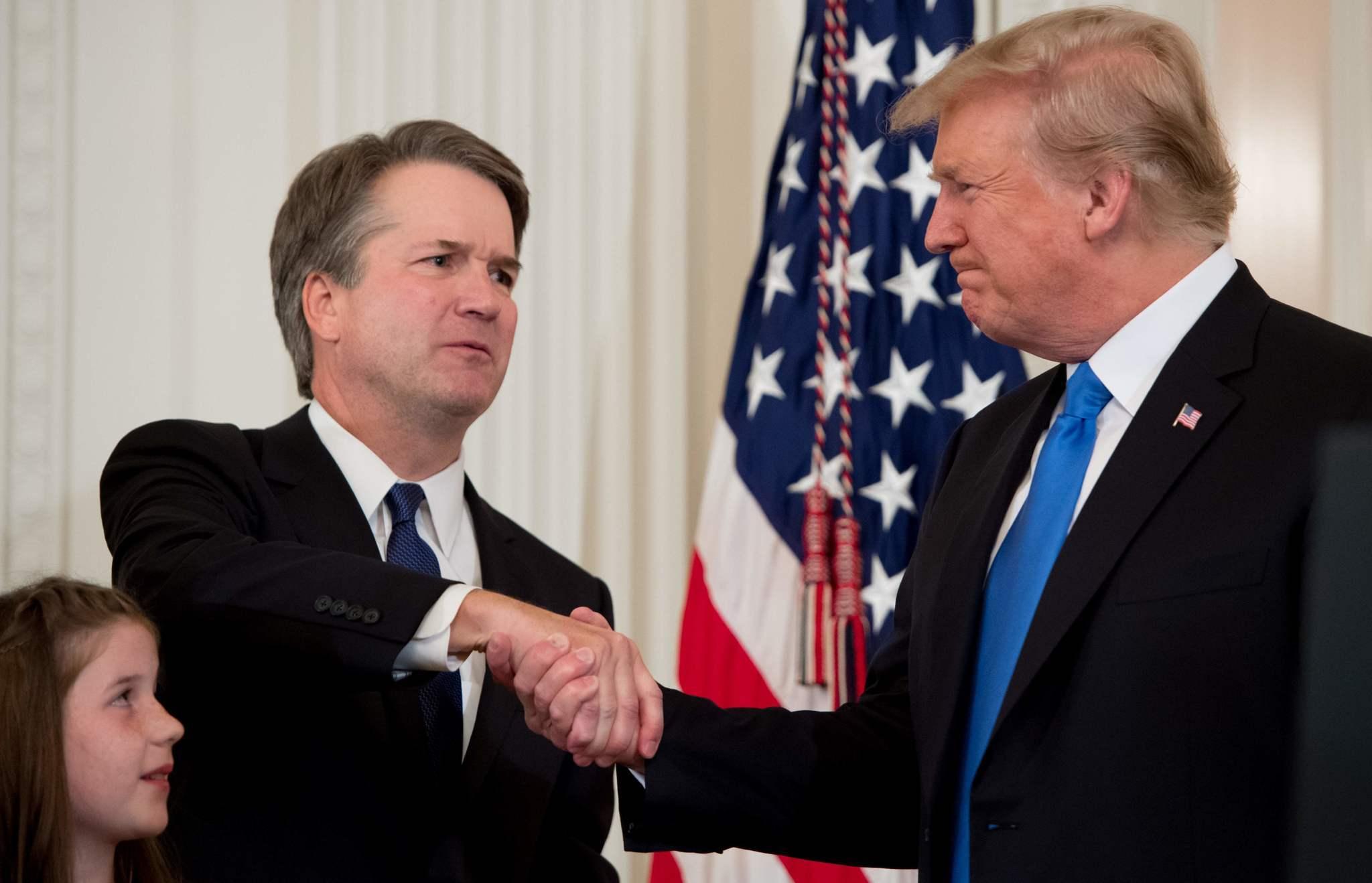 Brett Kavanaugh Donald Trump SCOTUS