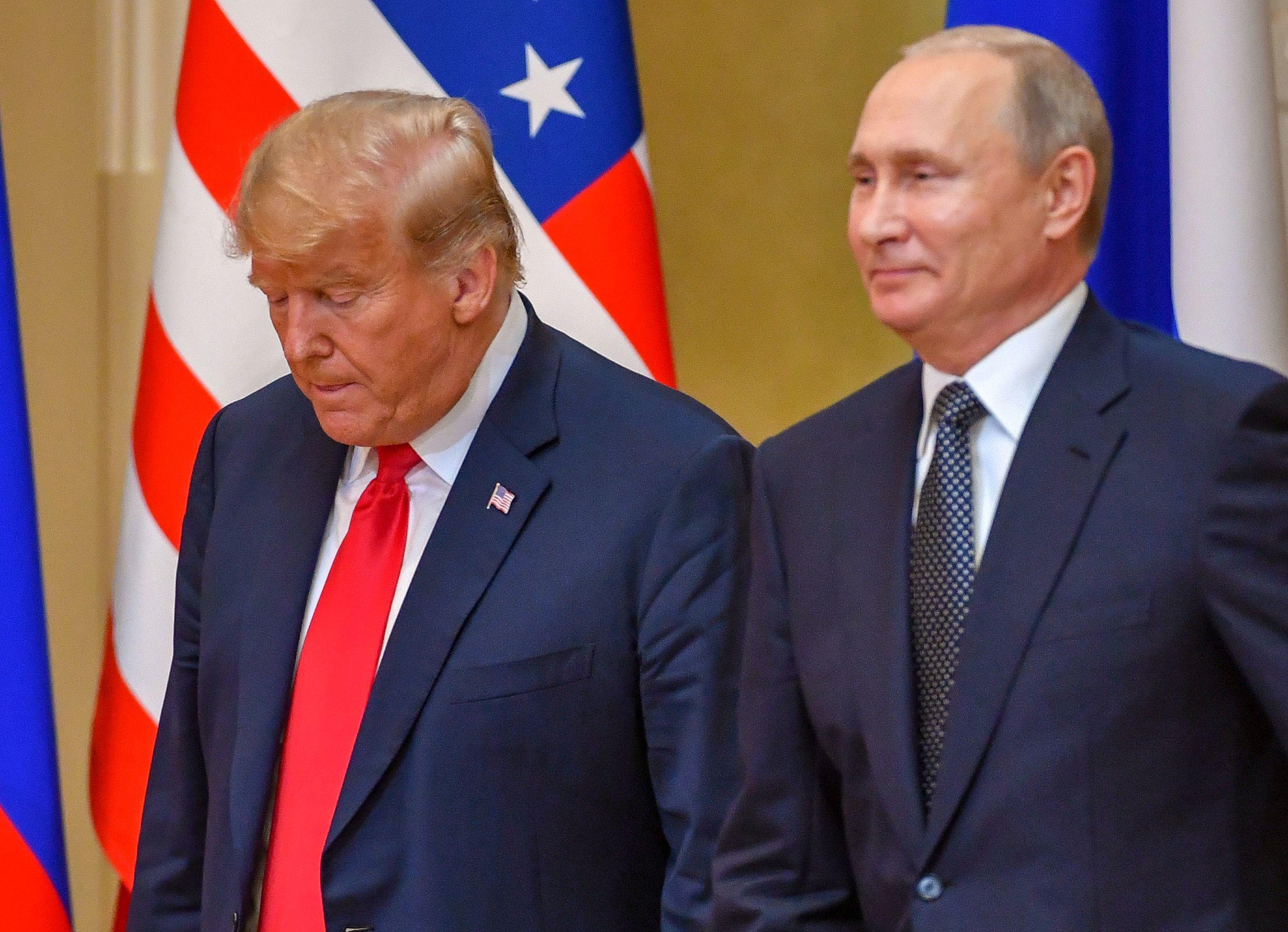 Trump Impeachment odds slashed after Helsinki