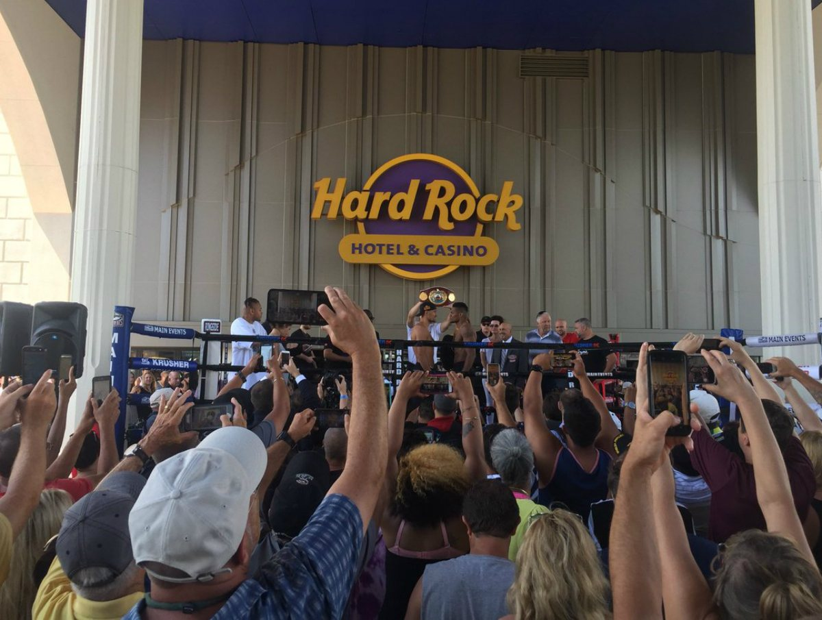 Atlantic City casino revenue Hard Rock