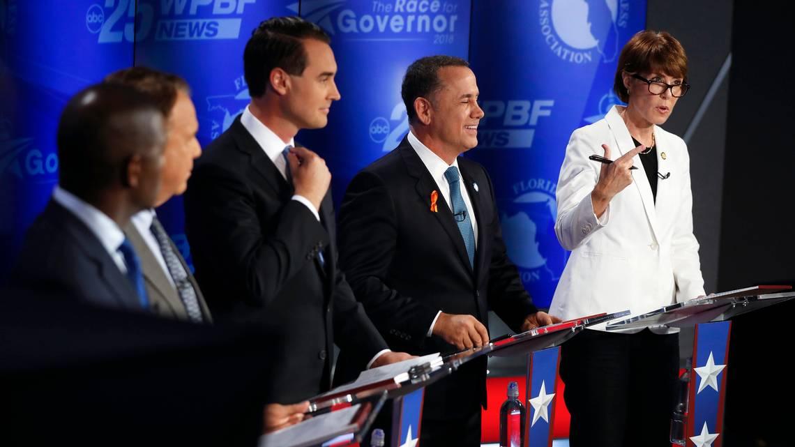 Florida governor race casino amendment