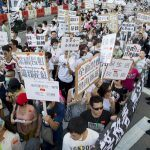 Macau gaming labor protests