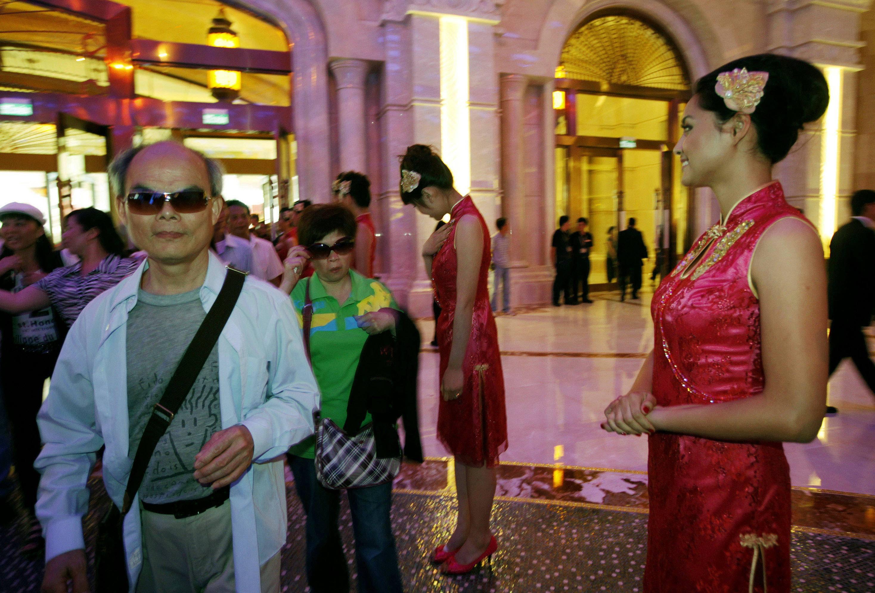 Macau casinos revenue GGR