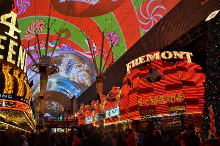 Fremont Street Experience canopy upgrade