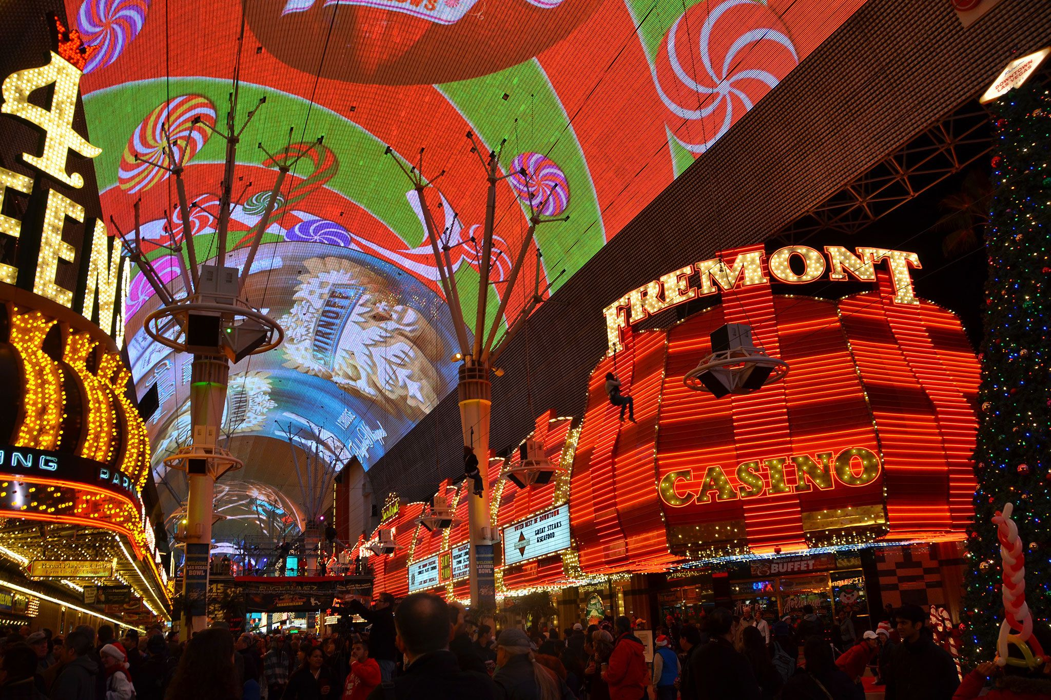 Fremont Street Experience $32M Canopy Upgrade Coming In 2019