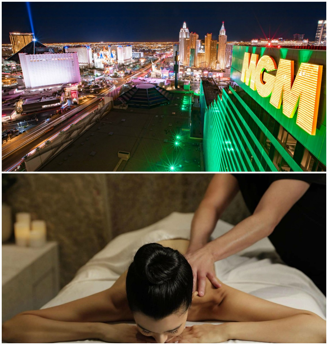 MGM Resorts spa service charge