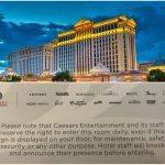 Caesars Palace Security Room Inspections Spook Guests, Surveillance Posted to Social Media