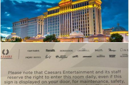 Caesars Palace security Def Con