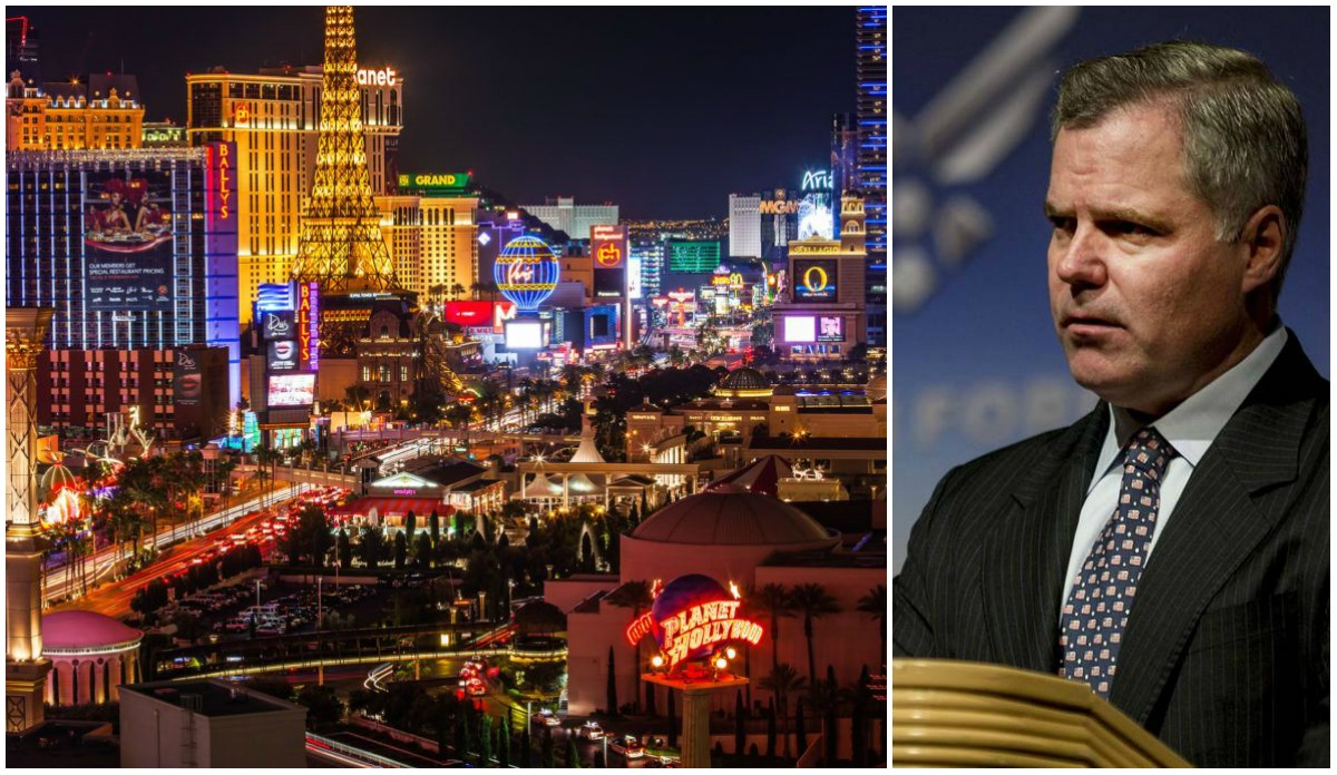 Las Vegas casinos earnings Jim Murren