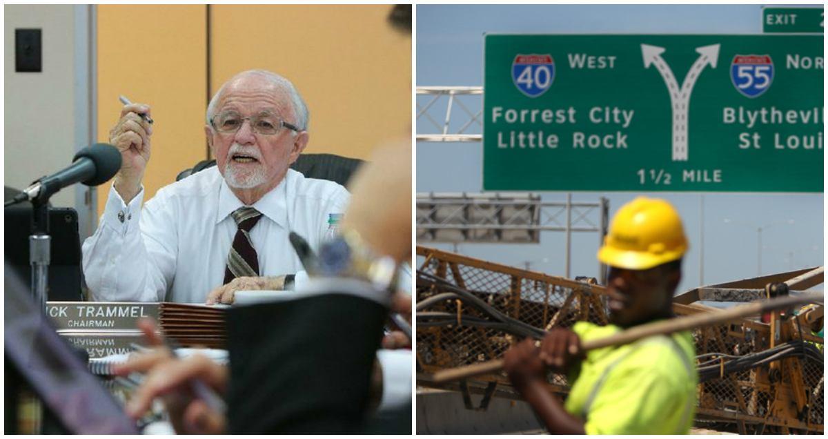 Arkansas Highway Commission casino amendment