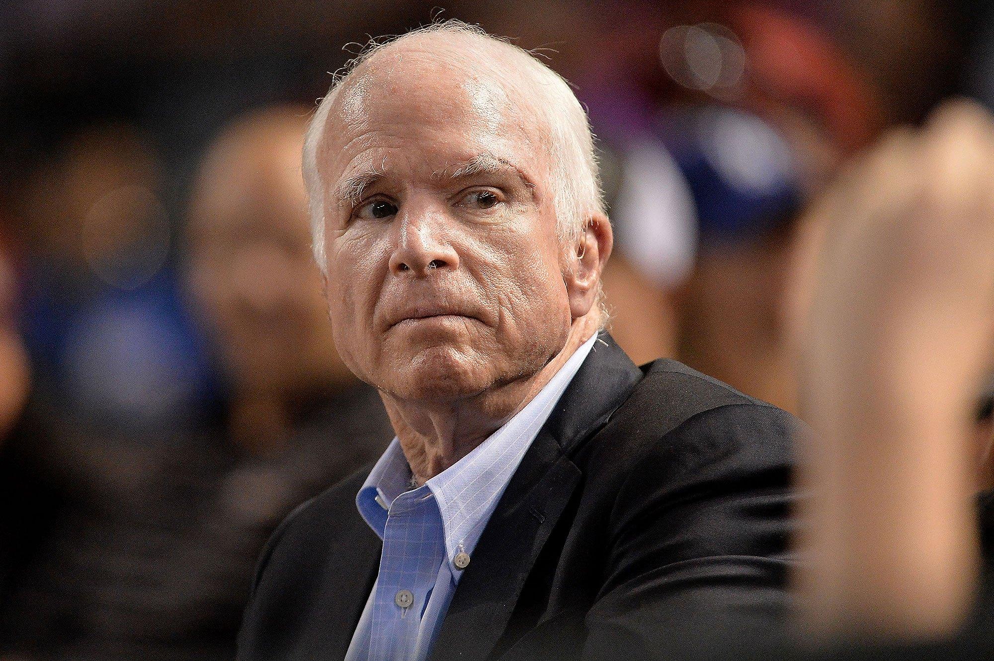 John McCain gambling Native American casino