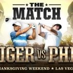 Bettors Back Tiger Woods Over Phil Mickelson in Winner-Take-All November 23 Match