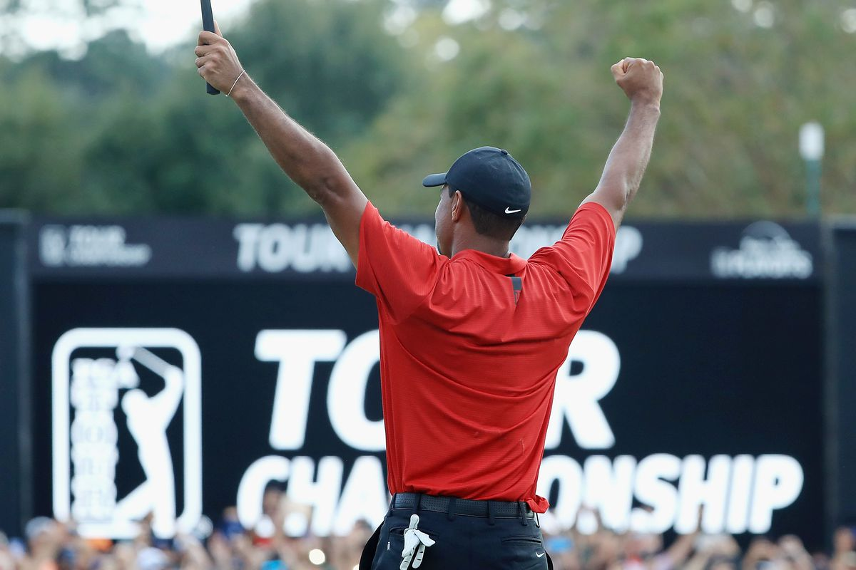 Tiger Woods golf odds FedEx Cup
