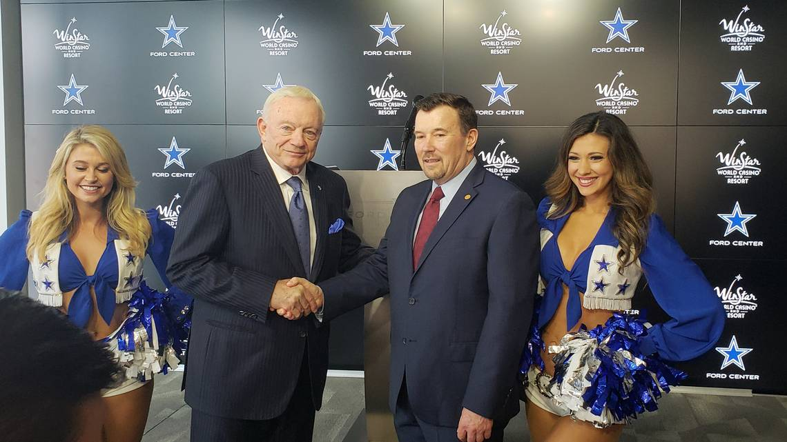 "The Dallas Cowboys became the first NFL team to have an official casino designation, announcing a partnership with WinStar World Casino and Resort on Thursday.""The Dallas Cowboys take great pride."