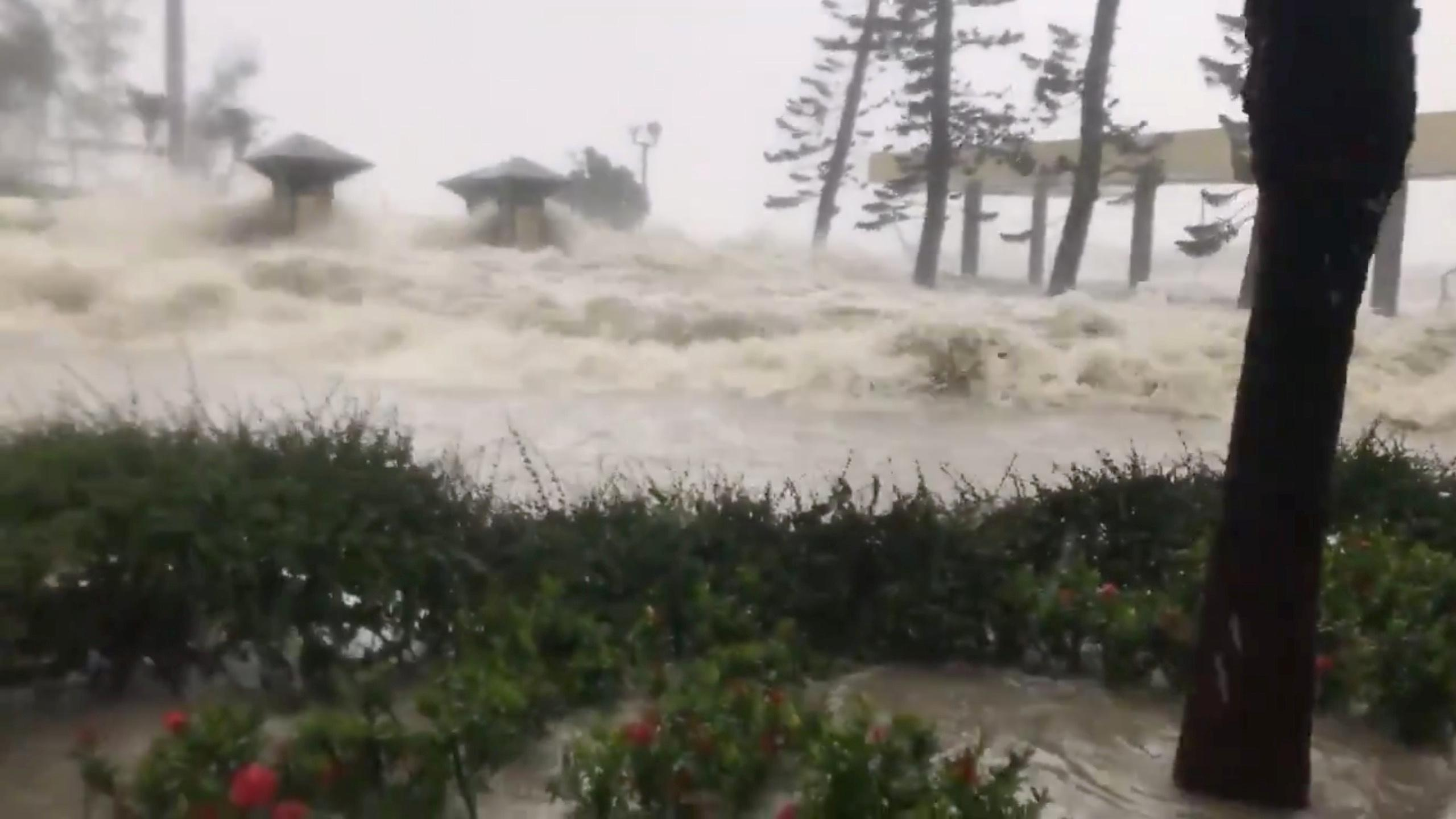 Typhoon Mangkhut Macau revenues