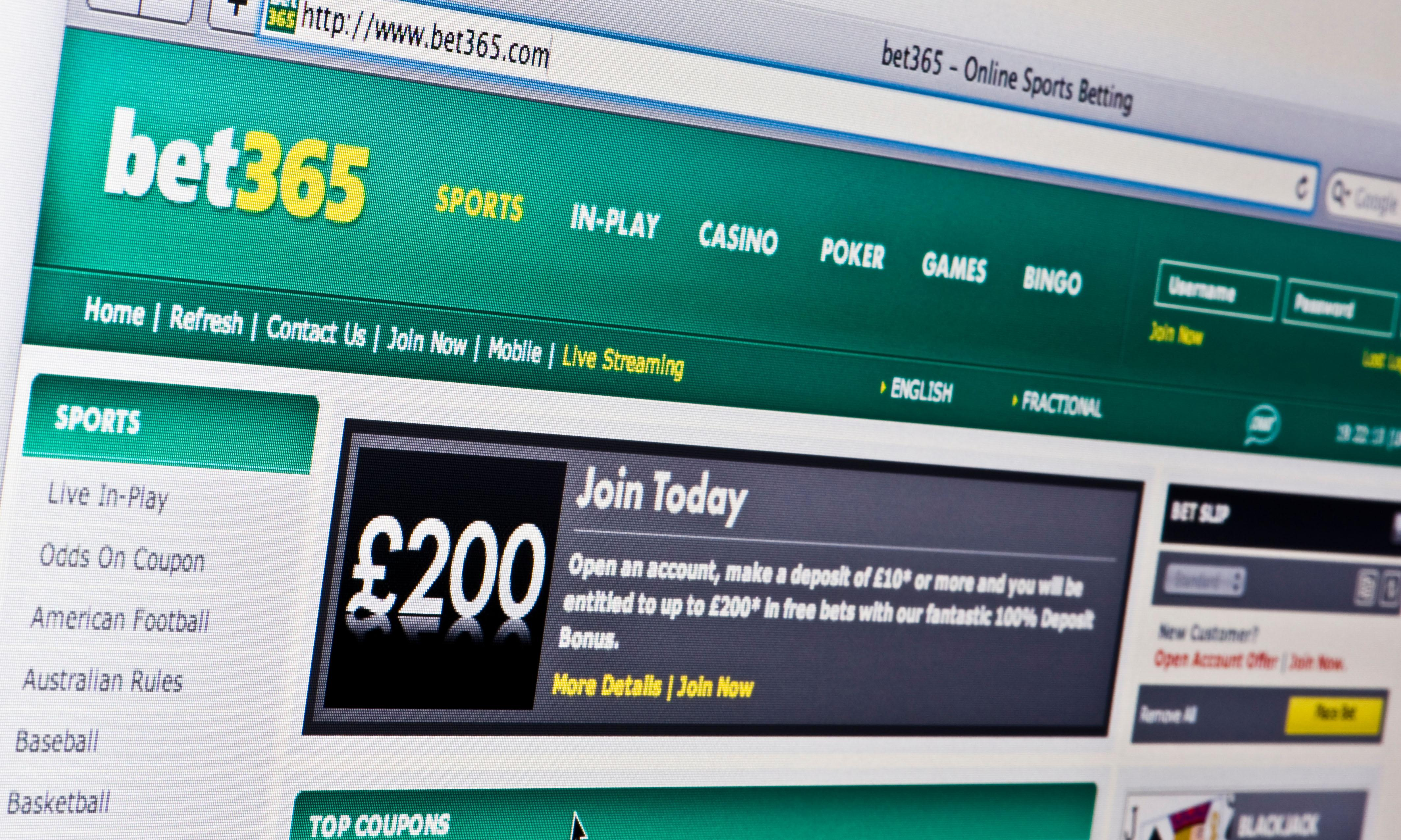 Bet 365 sports betting rules vegas key numbers in football betting totals