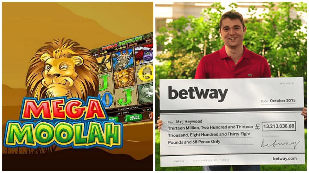 Mega Moolah jackpot online slots
