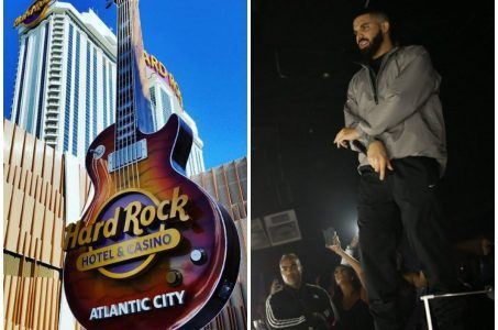 Drake Atlantic City Hard Rock