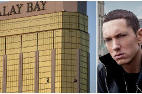 Eminem Las Vegas shooting rap