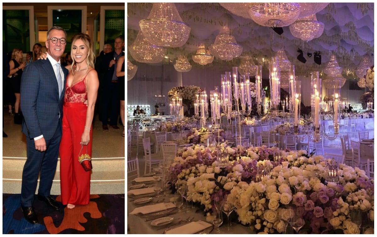 Wedding In Vegas.Las Vegas Billionaire Frank Fertitta Drops 25m On Daughter S Wedding