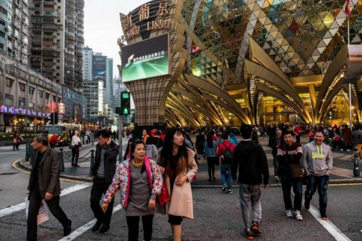 Macau mass market casino Golden Week