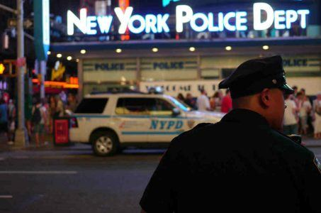 NYPD gambling arrest prostitution