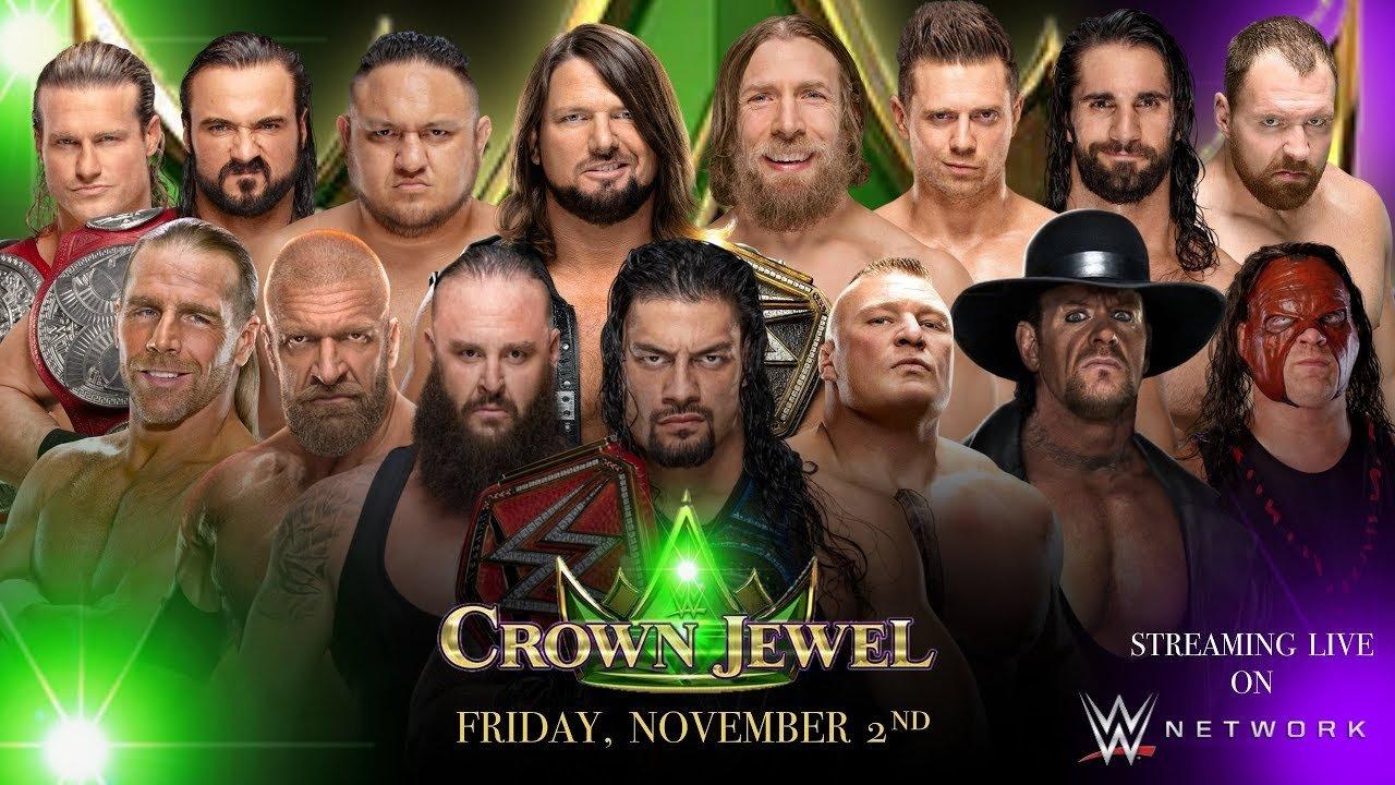 WWE Crown Jewel Saudi Arabia