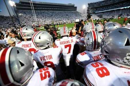 Ohio State Penn State football odds