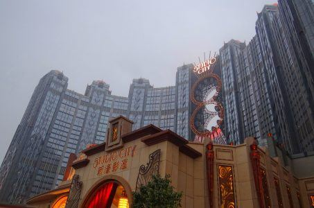 Studio City Macau Melco Resorts stock
