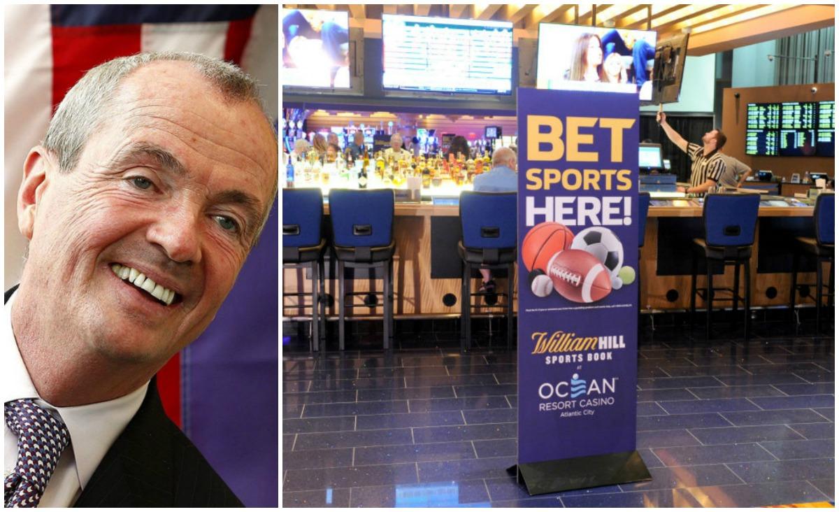 New Jersey sports betting tax CRDA